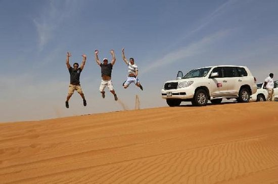 Evening Desert Safari From Dubai...