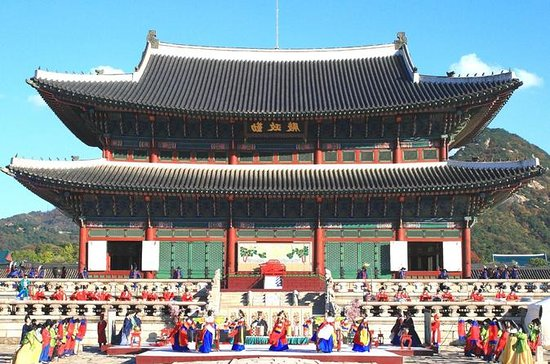 Full Day Royal Palace and Korean Folk...