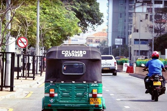 City Tour em Colombo por Tuk Tuk