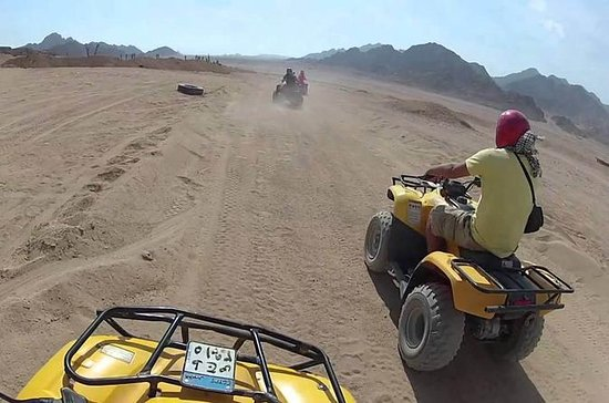 5-stündige Quad-Safari in Hurghada