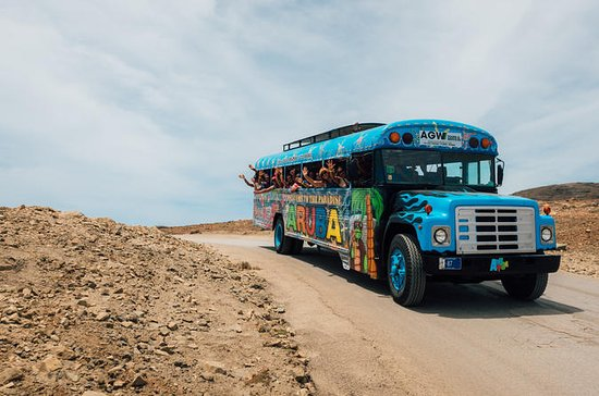 Aruba Open-Air Party Bus Tour