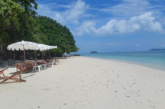 Paradise Private Island Day Tour with Lunch from Phuket