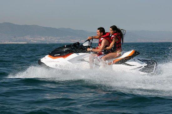 Menorca tur med jetski