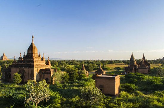 Erstaunliche Bagan Tempel Tagestour