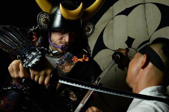Samurai Armor Photo Shoot en Shibuya