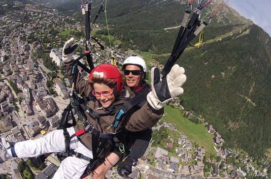 Paragliding Tandem Flight over the...