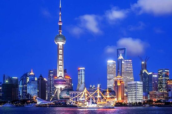 Shanghai Night River Cruise Tour with...