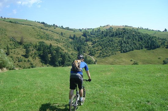 Tour in mountain bike intorno a Brasov