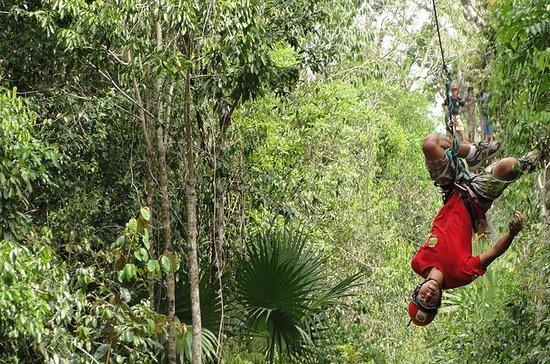 Tour combinato Quad, zipline e cenote