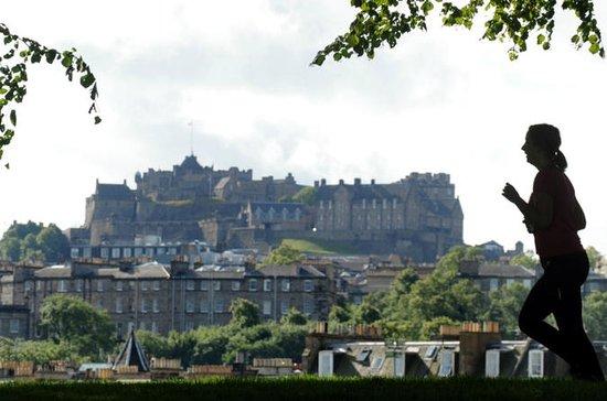 Edinburgh Marathon Festival Running...