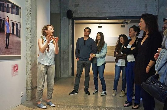 Visite de la galerie d'art à Tel Aviv