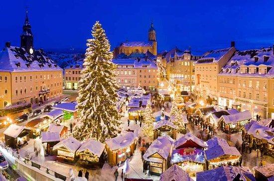 マイセンとドレスデンのクリスマスマーケットプラハからの1日のプライベートツア…