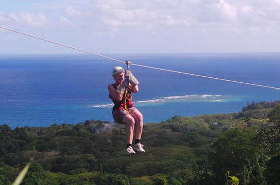 The Big Zipline Trek in Vanuatu ...