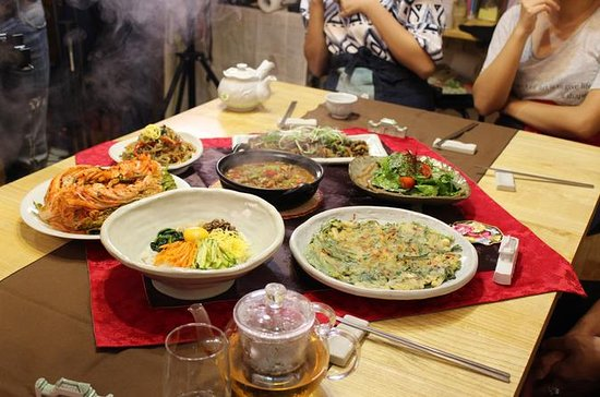 Seoul Market Tour and Korean Cooking...