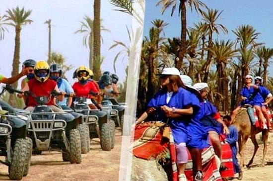 Half-Day Quad Biking and Camel Ride from Marrakech