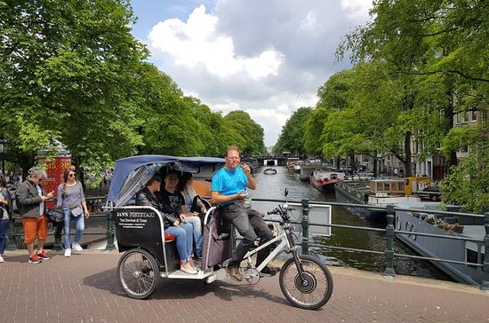 Rikscha-Tour durch Amsterdam