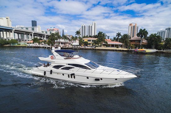 62' Azimut Boat Rental with Jet Ski...