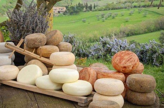 トスカーナ地方のチーズとチョコレートテイスティング体験