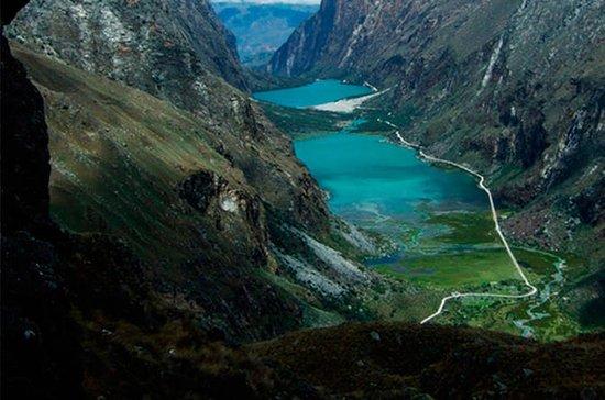 VTT au lac Llanganuco depuis Huaraz