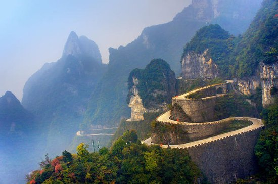Private Day Trip of Tianmen Mountain With Tianmen Fox Fairy Show VIP...