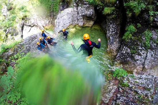 Bled Half Day Canyoning Adventure