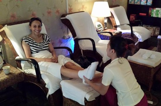 Sapel Express Foot Massage in Yangon