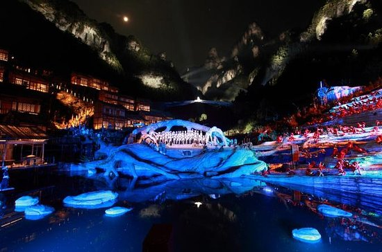 Super VIP Seat of Tianmen Fox Fairy Show with Private Transfer