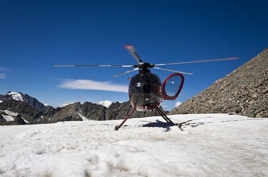 Helicopter Tour and Glacier Landing...