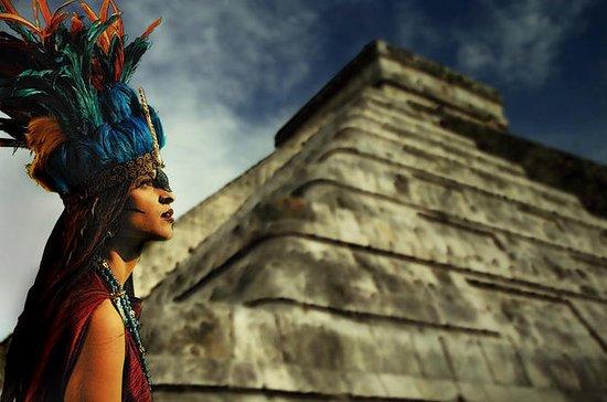 Chichen Itza, Cenote Hubiku och Ek ...