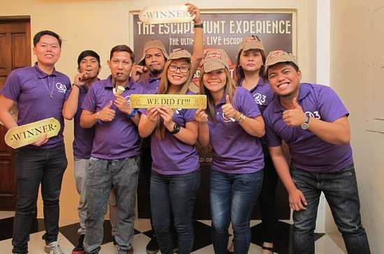 The Escape Hunt Experience Manila