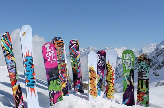 Banff Performance Snowboard Rental Including Delivery