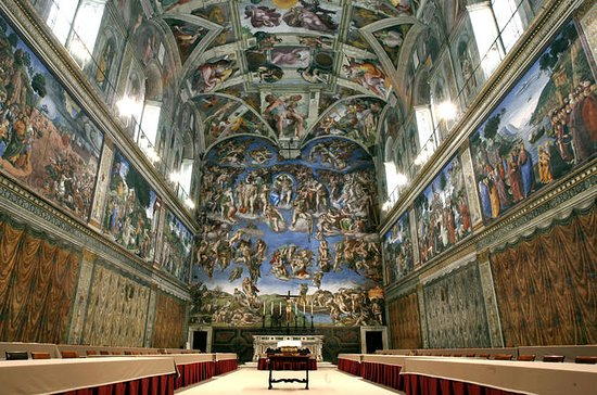 Sistine Chapel Raphael Rooms Private