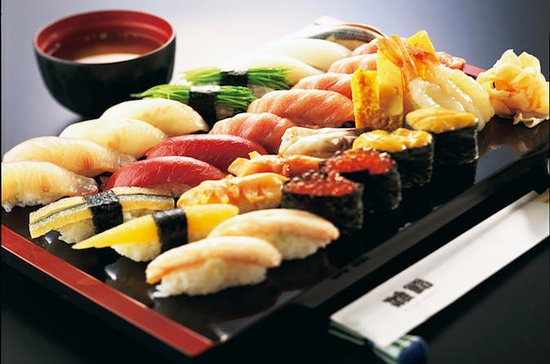 All-You-Can-Eat Sushi Dinner and Robot Restaurant Ticket Package