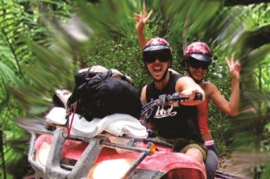 Snorkel, Zipline, ATV and Cenote...