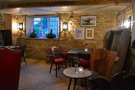 Kingham, UK: inside the restaurant