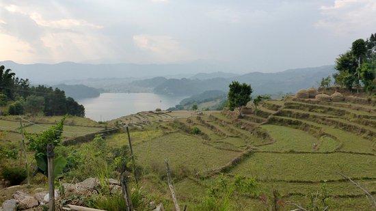 Begnas Lake: View of Begnas Tal