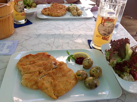 Bad Goisern, Autriche : Great craft beer and wonderful Weiner schnitzel