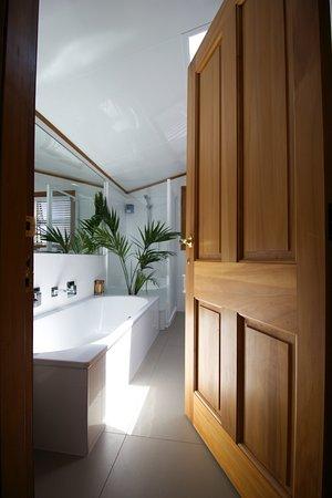 Taranaki Thermal Spa: bright, fresh and relaxing interiors
