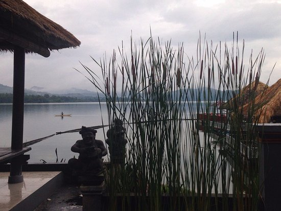 Kedisan, Indonesien: View from the outside tables in the restaurant
