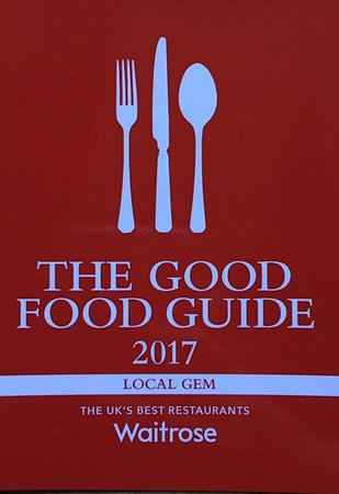 Kirtlington, UK: The Oxford Arms is in the most prestigious food guide