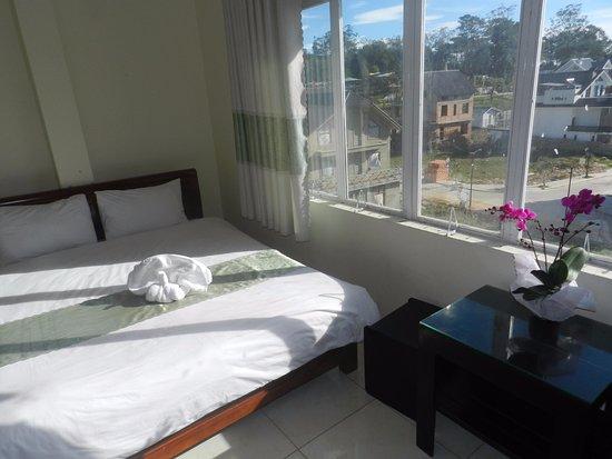 Vinh, Vietnam: Phòng khách sạn khá đẹp, giá cả hợp lý, sạch sẽ,thoáng mát, đầy đủ các trang thiết bị, tầm nhìn