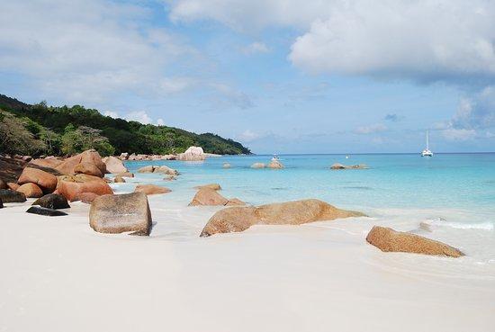 Praslin Island, Seychelles: la plage