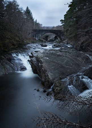 The falls of foyers in Scotland.
