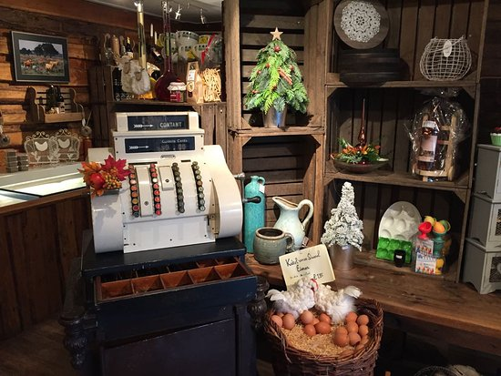 Anloo, The Netherlands: The shop is nicely decorated