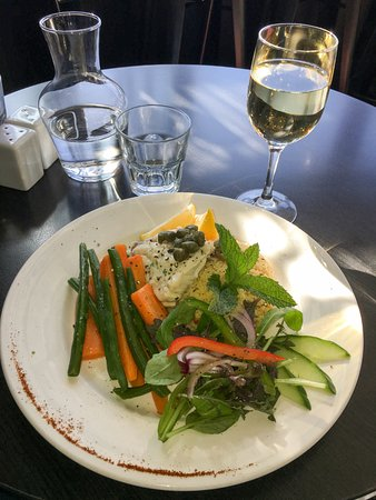 Success Cafe: Snapper with couscous and vegetables
