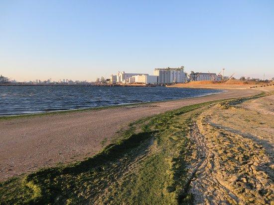 Chiba Port Park: Praia