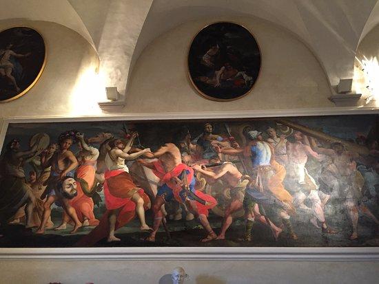 San Giustino, Italia: Dipinto Raffigura Scena Biblica di Davide