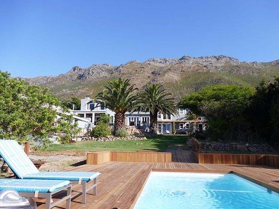 Gordon's Bay, Sudáfrica: from the backyard