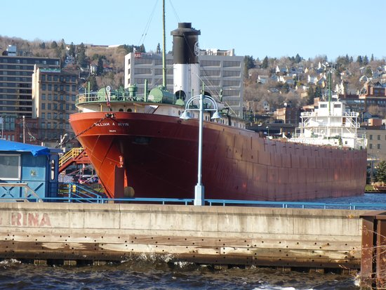S.S. William A. Irvin Ore Boat Museum: Stern On !!