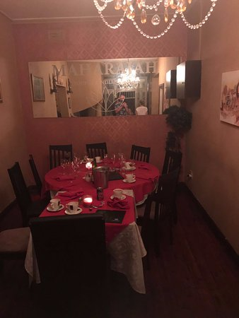 Separate rooms for bigger groups make Maharajah a good party or family venue.